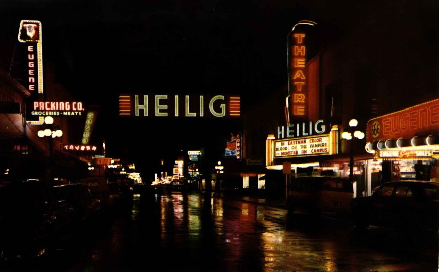 Heilig Theater Eugene Oregon