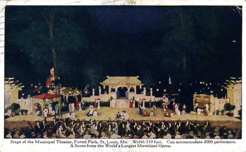 World's Largest Municipal Opera, 1922 (1/2)