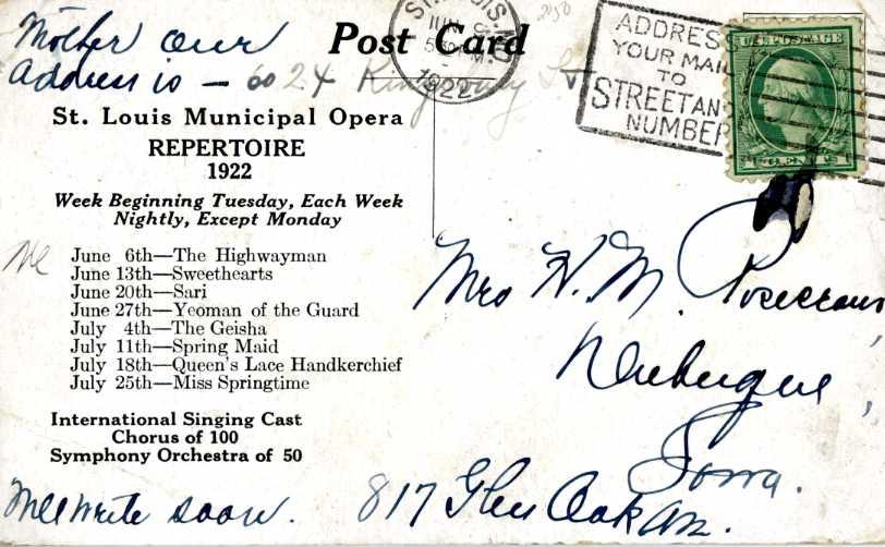 World's Largest Municipal Opera, 1922 (2/2)