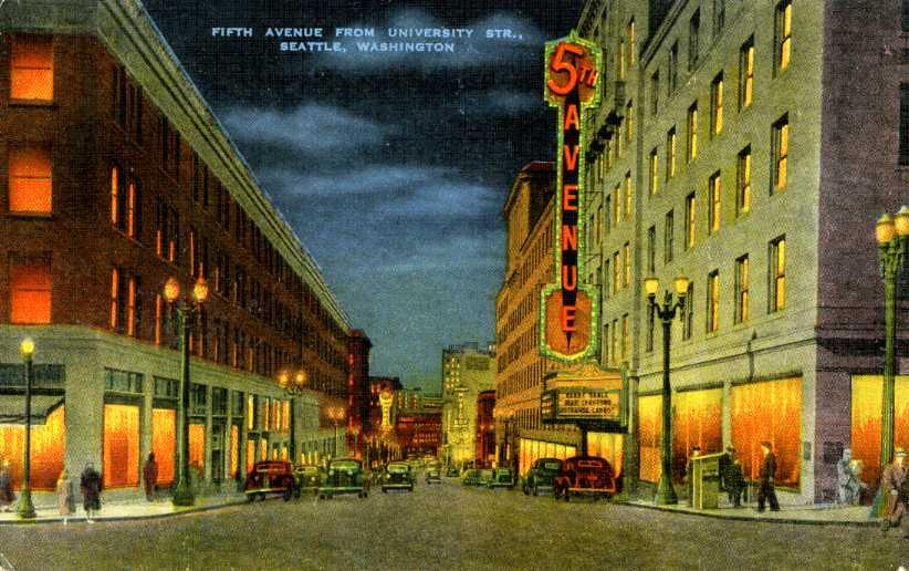 5th Avenue Theatre,  1308 5th Avenue, Seattle, WA 98101 (1/2)